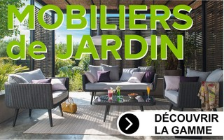 collection salon de jardin